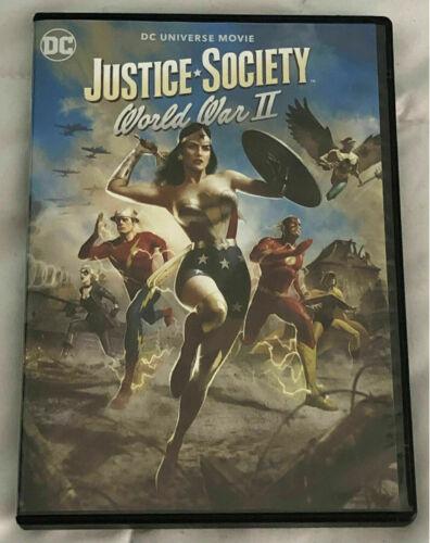 Justice Society: World War II DVD (2021) FREE SHIPPING
