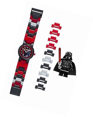 LEGO Star Wars Darth Vader Kids Watch With Minifigure **Band new** usato  Spedire a Italy