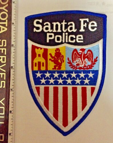 Santa Fe New Mexico Police Shoulder Patch New