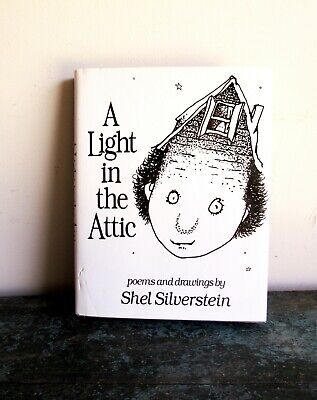 Vintage 1981 A LIGHT IN THE ATTIC 1st Edition Hardcover SHEL SILVERSTEIN HC