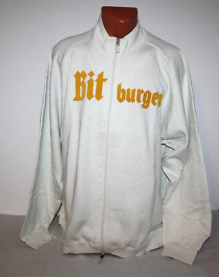 Bitburger Bier Beer Sweatjacke Kapuzenpulli Sweatshirt Herren Gr. XXL NEU OVP