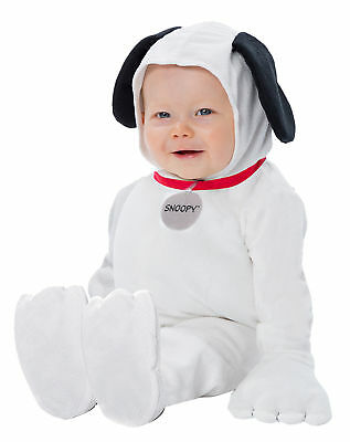 Snoopy Halloween Costume Baby (Palamon Baby Peanuts Snoopy Infants Costume, White, (9-18))