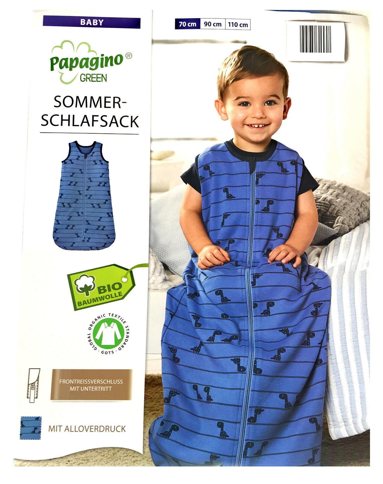 Baby Schlafsack Bio Baumwolle Strampelsack Pucksack Kleinkind 0 - 24 - 36 Monate