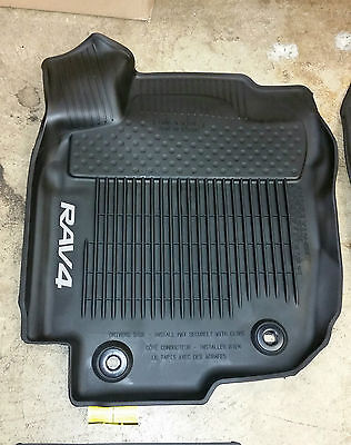 2013 2014 2015 2016 2017 Toyota Rav4 Floor Liners All