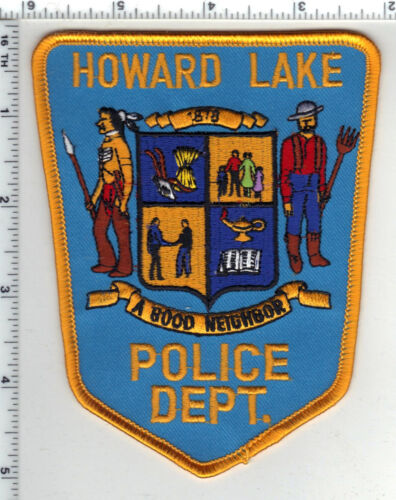 Howard Lake Police (Minnesota) Shoulder Patch new from the 1980