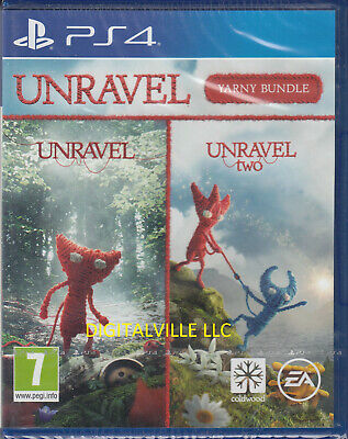 Unravel Yarny Bundle 1 and 2 PS4 Brand New Factory Sealed