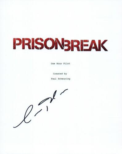Amaury Nolasco Signed Autographed PRISON BREAK Pilot Episode Script COA VD