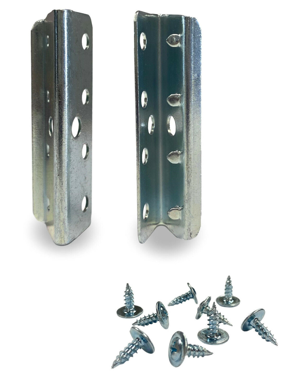 2″ Furniture Upholstery Webbing Metal End Clip (Includes Screws) – 20 Clips Crafts