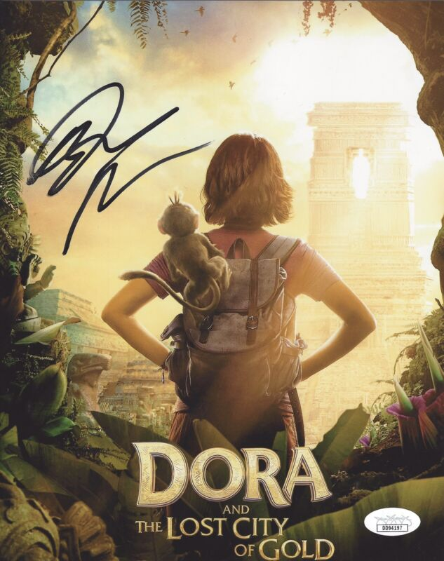Isabela Moner Signed 8x10 Photo Dora Lost City Of Gold Poster - JSA COA #3