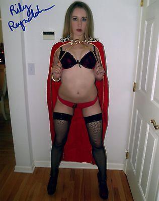 Riley Reynolds Adult/Fetish Film Star Signed Photo #15 Bang Bros. Racy Angel (Angel Fetish Star)