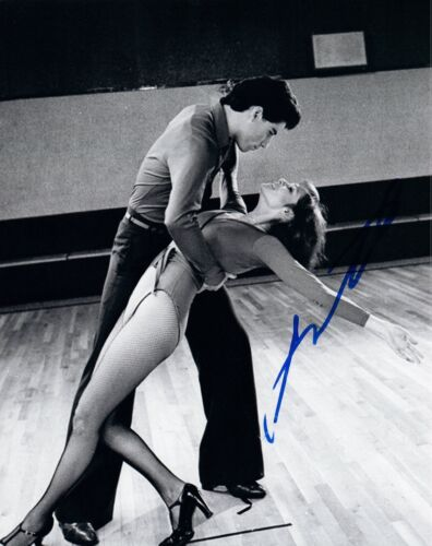 John Travolta Signed Autographed 8x10 Photo Grease Saturday Night Fever COA VD