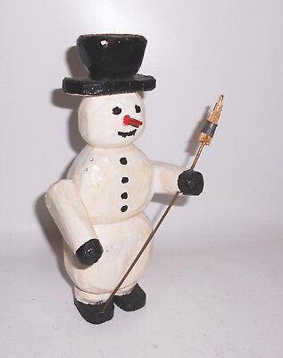 Ancient Snowman Probably Erzgebirge before 1945 Christmas Figure Christmas Decor
