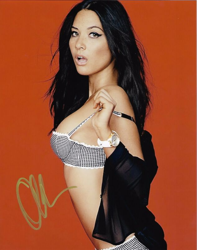 Olivia Munn X-Men Autographed Signed 8x10 Photo COA #A10