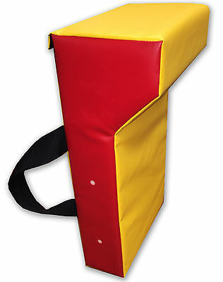 Junior Mini Rugby Rucking Tackle Wedge Hit Shield Pad - 50cm x 30cm x 18cm
