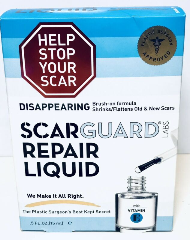 Scarguard Scar Repair Liquid with Vitamin E 0.5 oz EXP 2022+ 1008