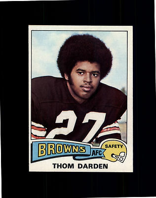 1975 Topps #342 Thom Darden - Cleveland Browns NM/MT (A02A)