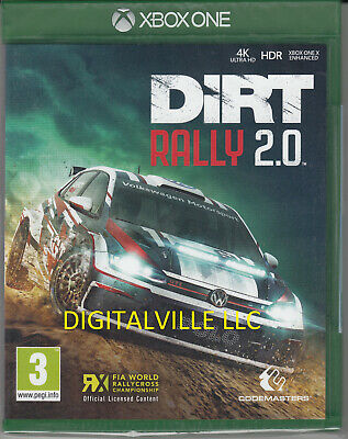 Dirt Rally 2.0 Xbox One Brand new Factory Sealed