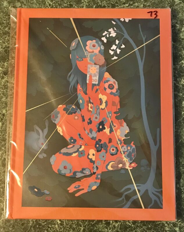James Jean Azimuth Signed & Numbered Limited Edition Catalogue Hardcover Book