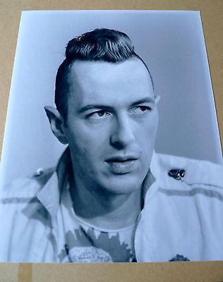 JOE STRUMMER ORIGINAL Promotional Photograph & THE CLASH Vintage Picture