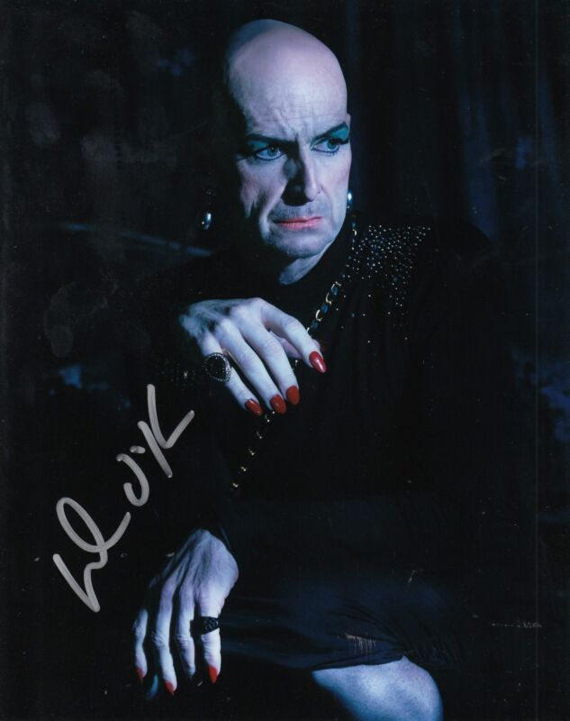 DENIS O'HARE signed (AMERICAN HORROR STORY) 8X10 photo *SPALDING* LIZ W/COA #1