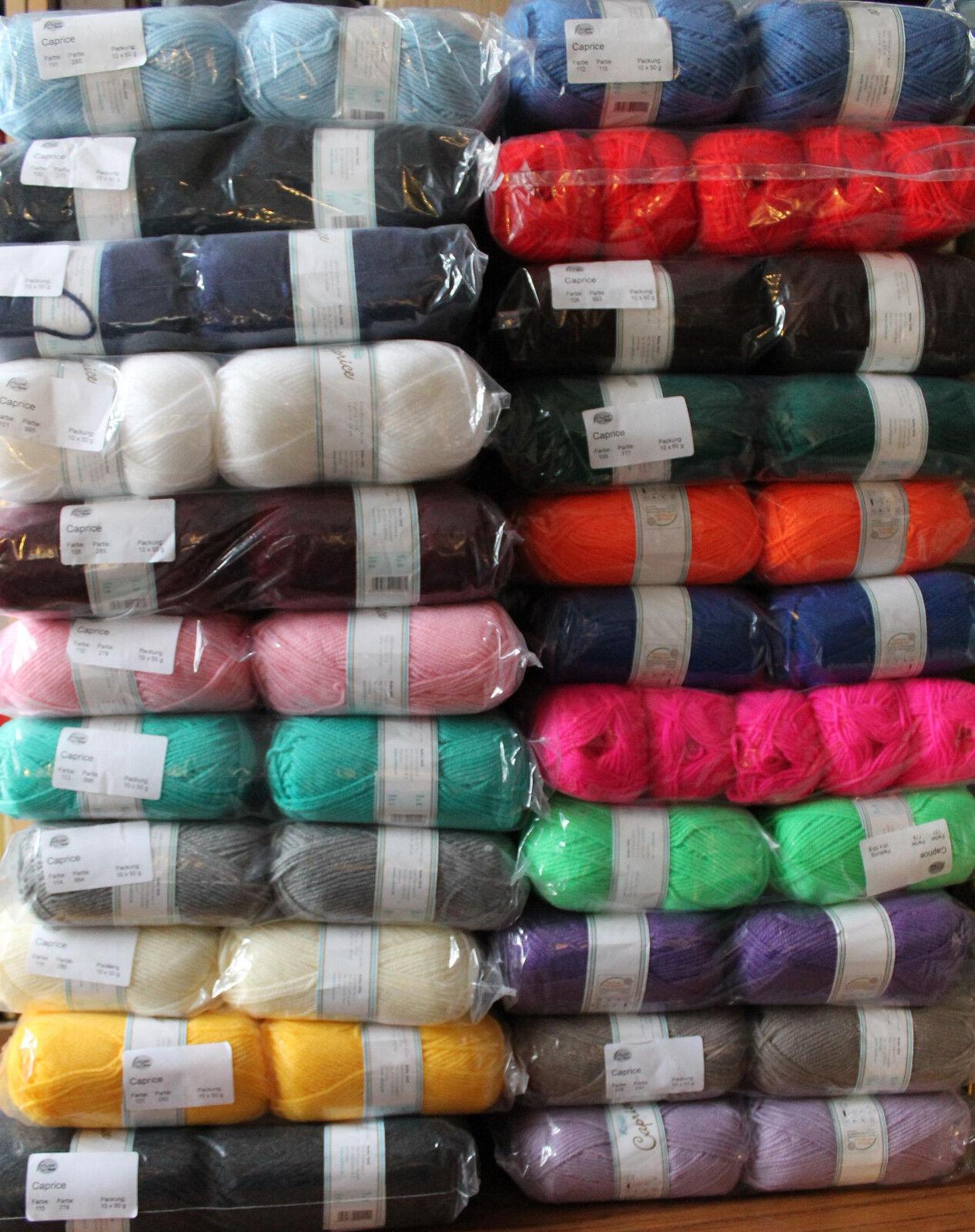 Caprice - Softacryl von Rellana, Wolle zum stricken und häkeln