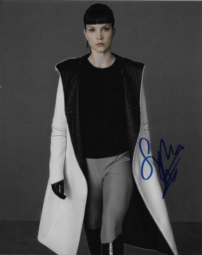 Sylvia Hoeks Blade Runner Autographed Signed 8x10 Photo COA O6L