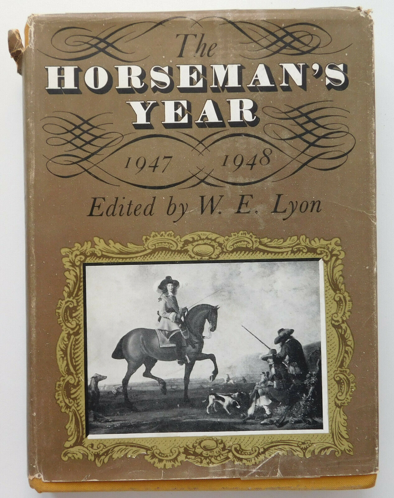 The Horseman's Year book 1947 to 1948 equestrian horses racing fox hunting 1940s