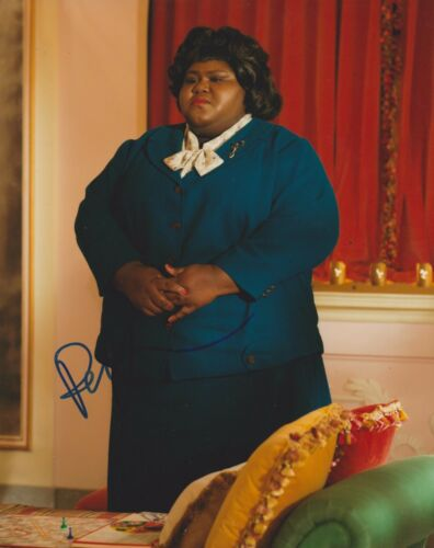 Gabourey Sidibe Signed American Horror Story 10x8 Photo AFTAL