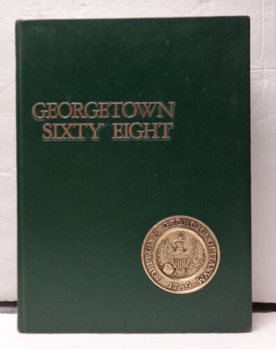 Vintage 1968 Georgetown University Ye Domesday Booke! Bill Clinton!
