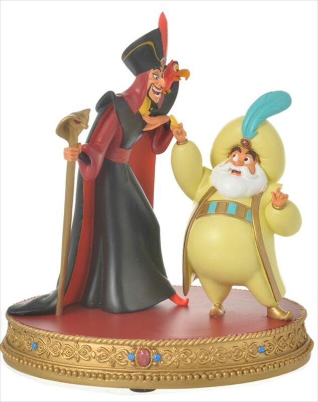 Disney Store Japan Aladdin Figure Sultan Jafar Iago Villains 2021 New