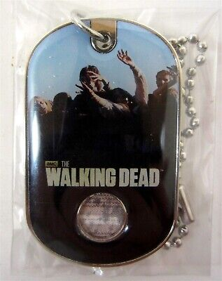 Bullsitoy The Walking Dead #C2 Walker COSTUME DOG TAG! Season 2 Update SEALED B](Dog Smurf Costume)