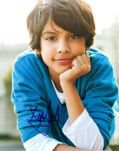 Xolo Mariduena Signed Autographed 8x10 Photo COBRA KAI Child Actor COA AB