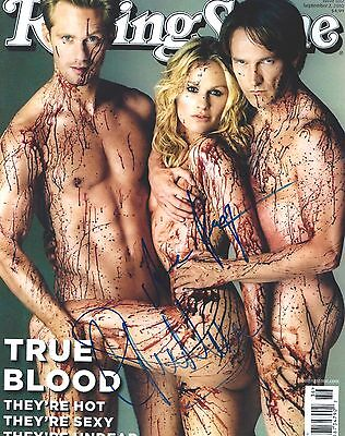 Anna Paquin   Stephen Moyer Signed True Blood 8X10 Photo   Exact Proof
