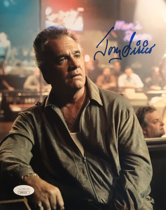 "Tony Sirico ""Paulie Walnuts Gualtieri"" The Sopranos Autographed 8X10 Pose #4 JSA"