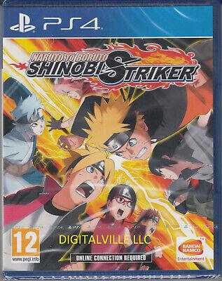 Naruto to Boruto Shinobi Striker PS4 PlayStation 4 Brand New Factory Sealed