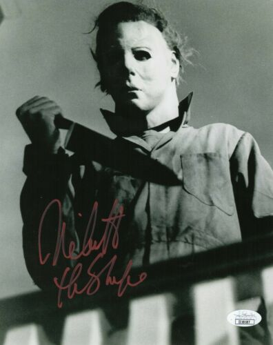 "Nick Castle Autograph Signed 8x10 Photo - Halloween ""The Shape"" (JSA COA)"