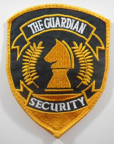 The Guardian Security - Uniform Shoulder Patch - Free Shipping