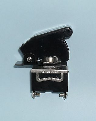 1 Spst Onoff Full Size Toggle Switch With Black Safety Cover