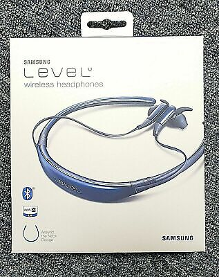 Samsung Level U Bluetooth Wireless In-ear Headphones with Microphone, Blue Saffa
