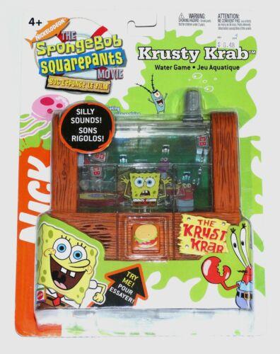 Spongebob Squarepants Krusty Krab Water Game OSS MISP Sealed 2004 Nick
