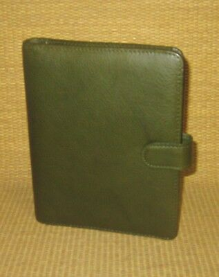 Compact .75 Rings New Green Leather Giada Franklin Covey Plannerbinder