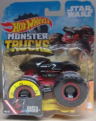 Hot Wheels Monster Trucks ~ Star Wars Darth Vader ~ Die-Cast Vehicle