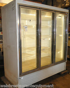 Glass-3-Door-Refrigerated-Cooler-Merchandiser-Beer-Beverage-Display-Refrigerator