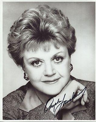 """ANGELA LANSBURY    Signed Autographed 8x10"""" Photo  67223"""