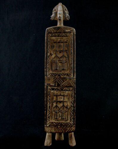 Art African tribal - Box IN Drugs Or Pharmacy Medicine Dogon - 45 CMS