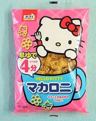Hello Kitty Macaroni Pasta 150g Sanrio Dried Pasta Kawaii Macaroni Bento Lunch
