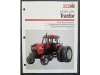 AG76585 Case Model 2594 Tractor Sales Brochure