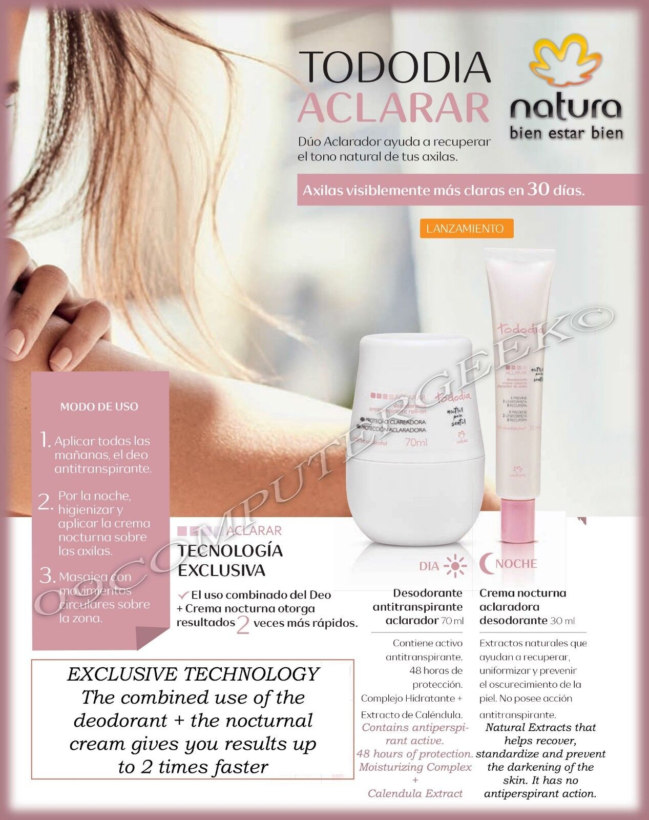 tododia clarify deodorant recover the l tone