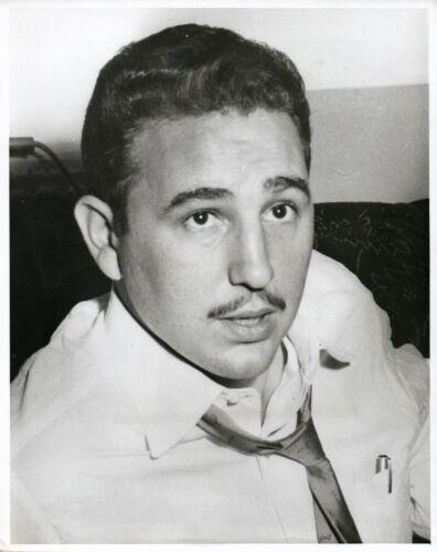 """Fidel Castro Original Type 1 Photo 8"""" x 10"""""""