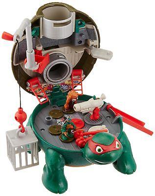Teenage Mutant Ninja Turtles Micro Mutant Raphael's Roof Top Pet to Turtle Pl...